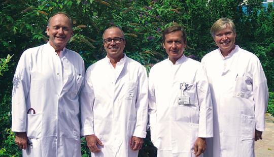 Abb. 2: Diese Ärzte setzen sich interdisziplinär für die Lungengesundheit ihrer Patienten ein (Gruppenbild).
