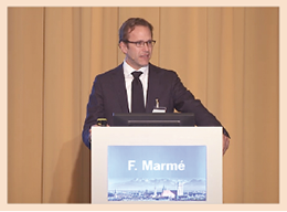 Keynote-Lecture von Prof. Dr. Frederik Marmé, Heidelberg zum Thema TNBC.