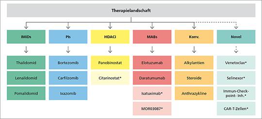 Therapielandschaft des Multiplen Myeloms