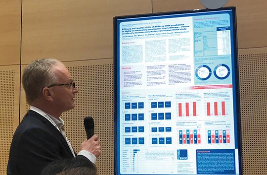 Posterpräsentation von Dr. Jörg Schilling