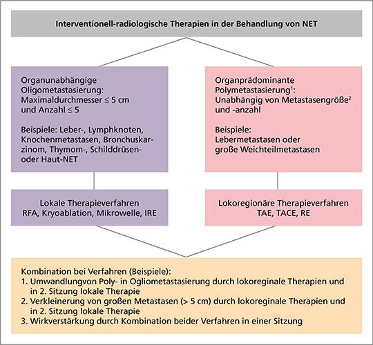 Übersicht interventionell-radiologischer Therapieverfahren