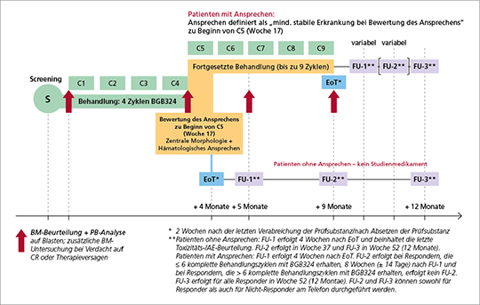 Abb. 1: Studien-Design der BERGAMO-Studie.