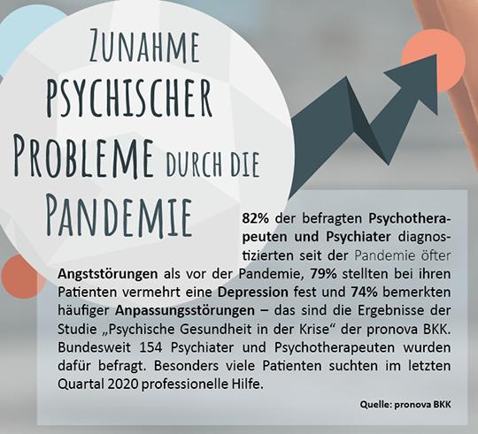 Netzfund 3 - Zunahme psychischer Probleme durch die Pandemie