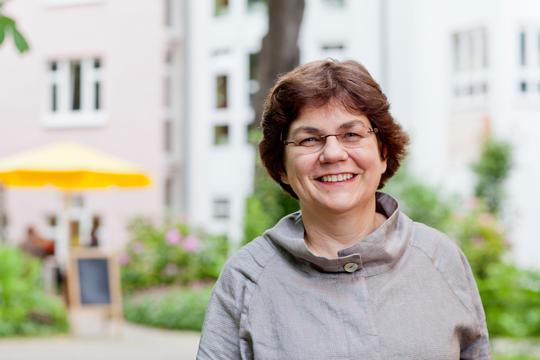 Portrait Prof. Dr. Charlotte Niemeyer, Quelle: Britt Schilling/Universitätsklinikum Freiburg
