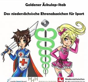 Symbol des Respekts: Sportabzeichen für schwerkranke Kinder