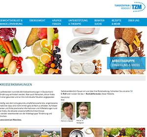 Neues Infoportal rund um Ernährung und Krebs ist online
