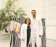 Ein Zebra erobert die sozialen Medien