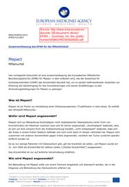 Zusammenfassung des EPAR für die Öffentlichkeit EMA Mepact