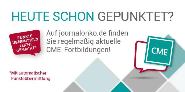 Zertifizierte CME Online-Fortbildungen für Ärzte